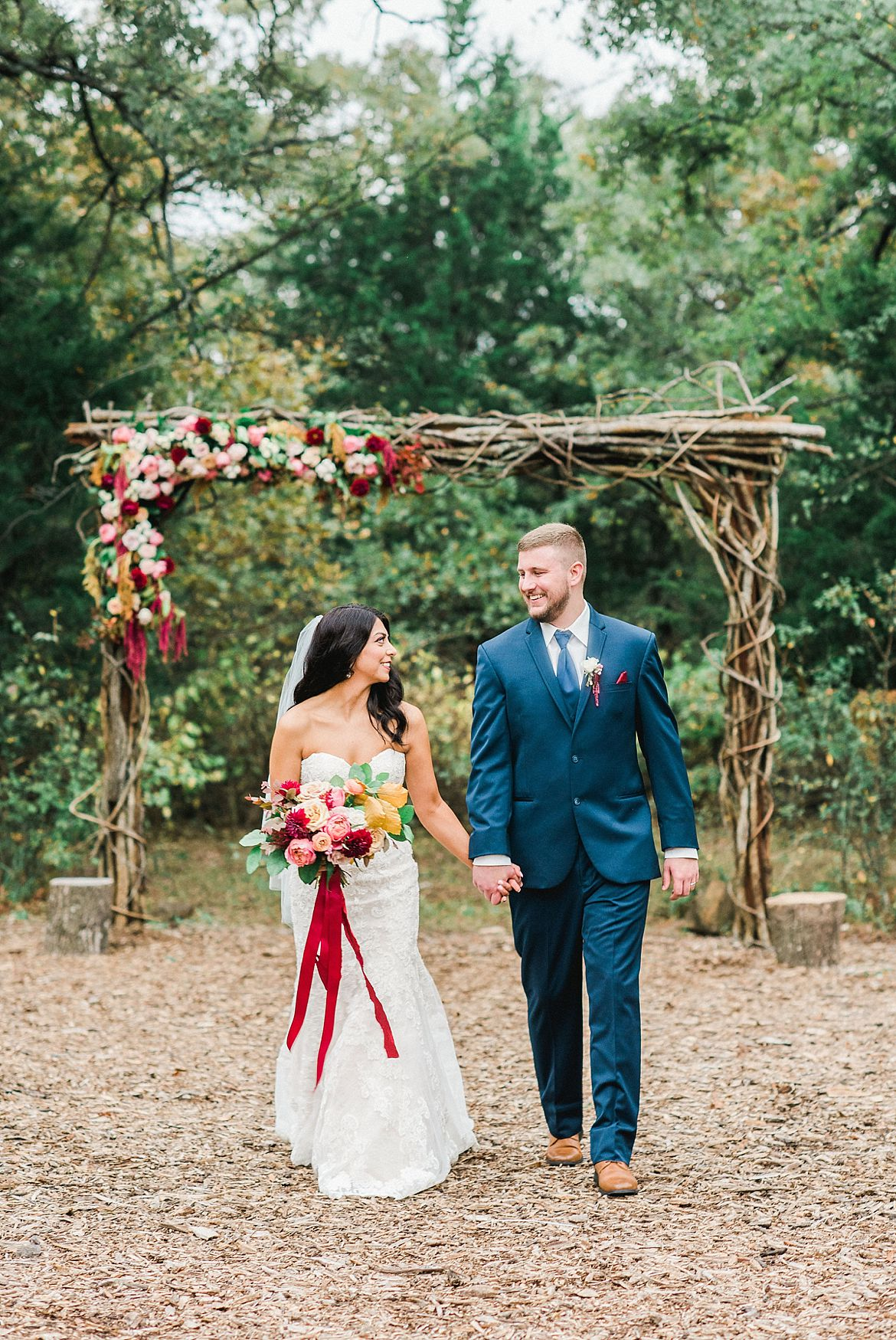 Bright Fall Wedding