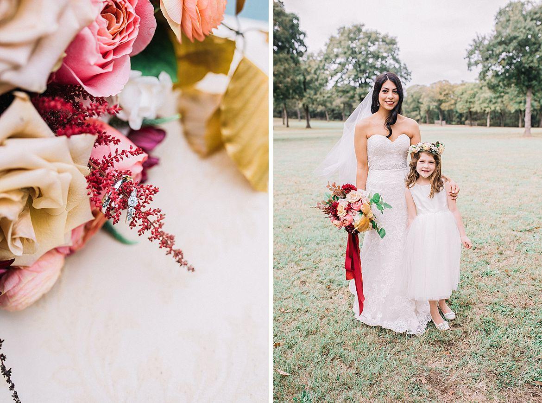 Bright Fall Wedding