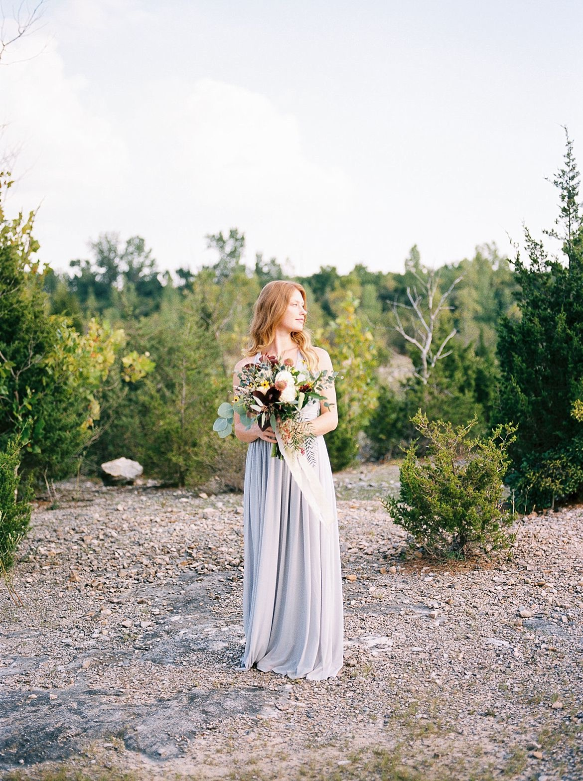 Simple Organic Bridal Inspiration