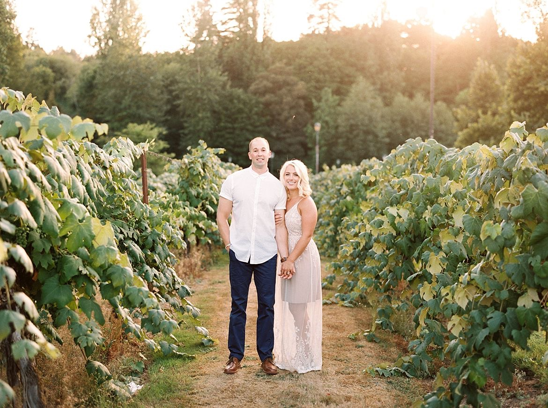 Vineyard Engagement Session