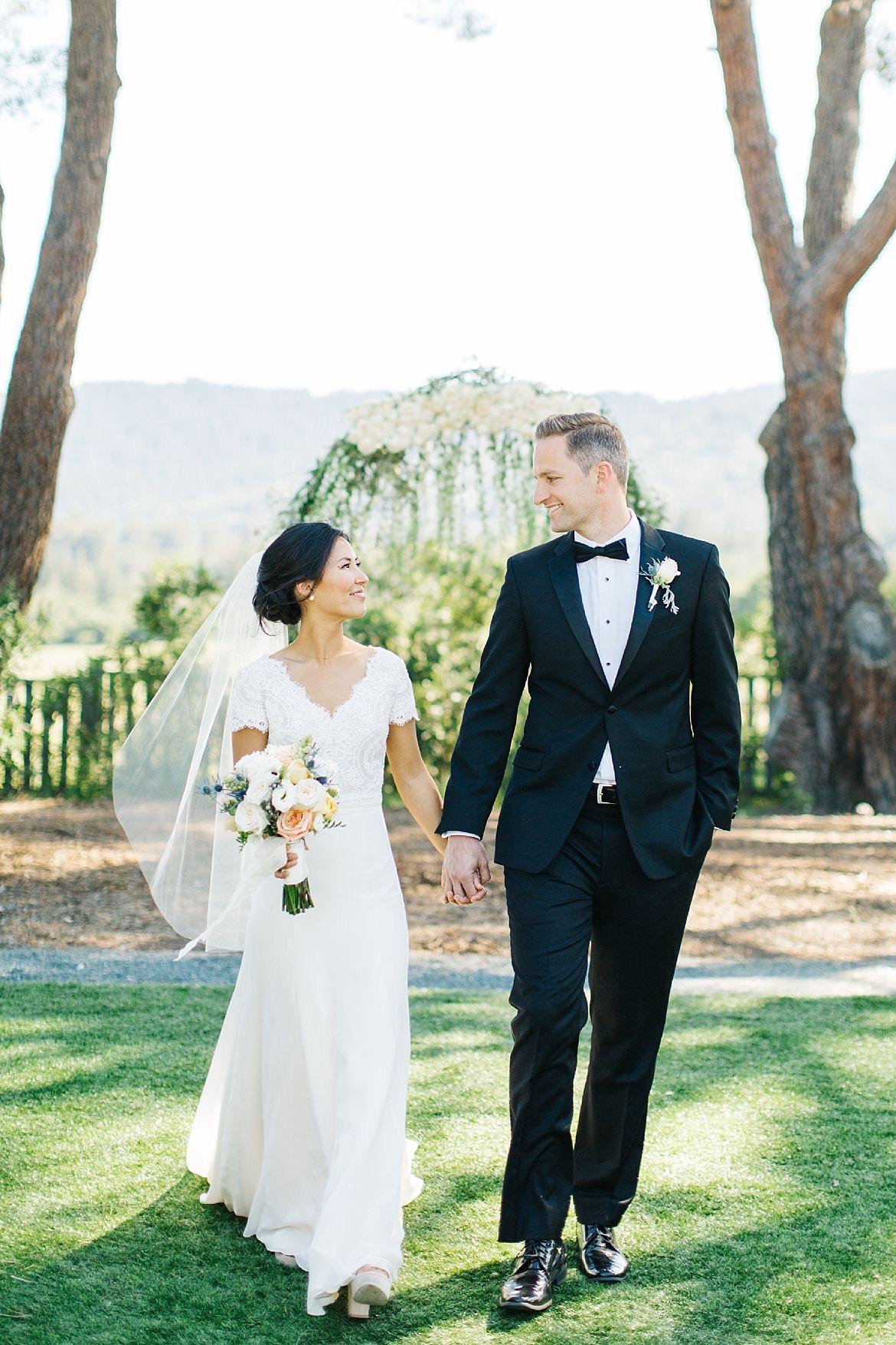 California Seaside Wedding