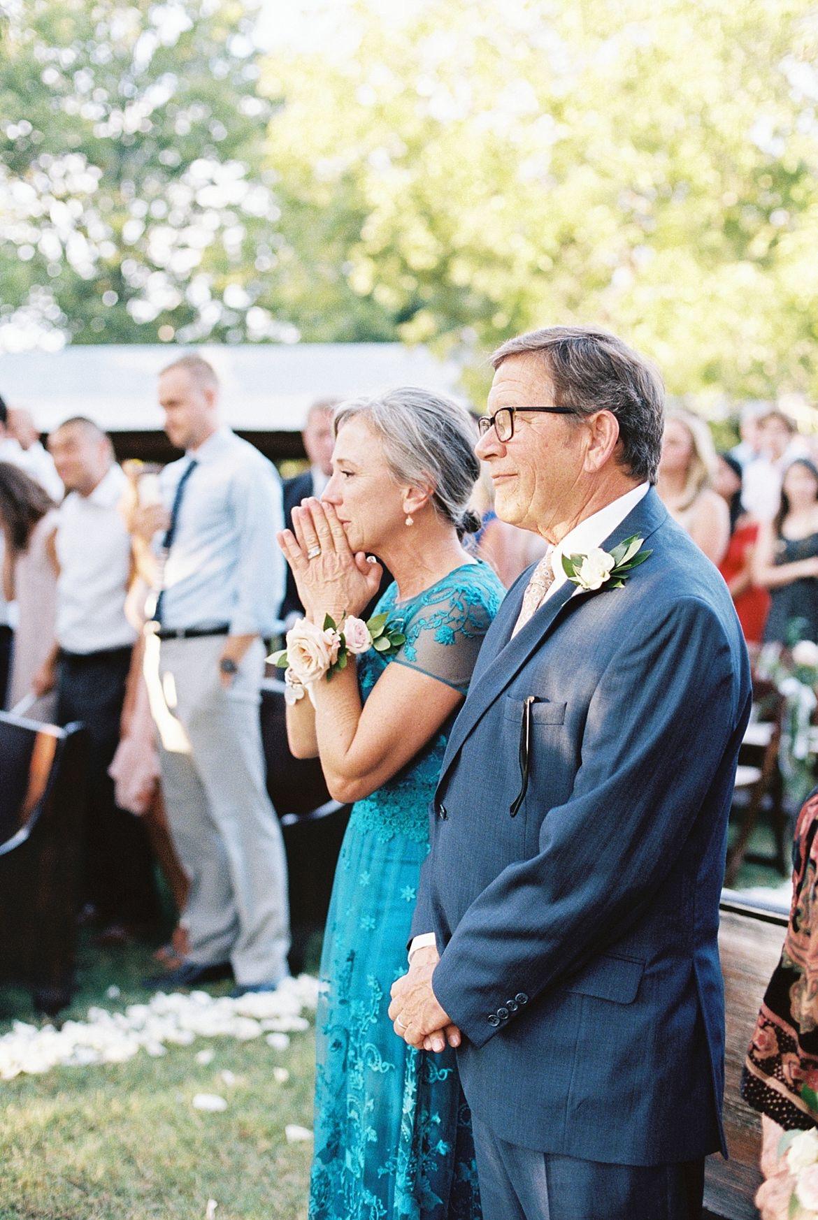 Organic Outdoor Wedding