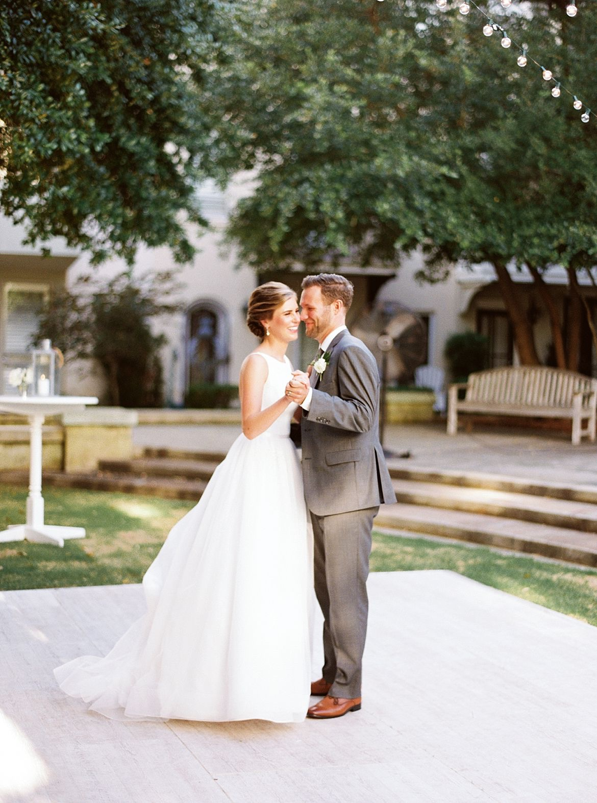 Intimate Church Wedding