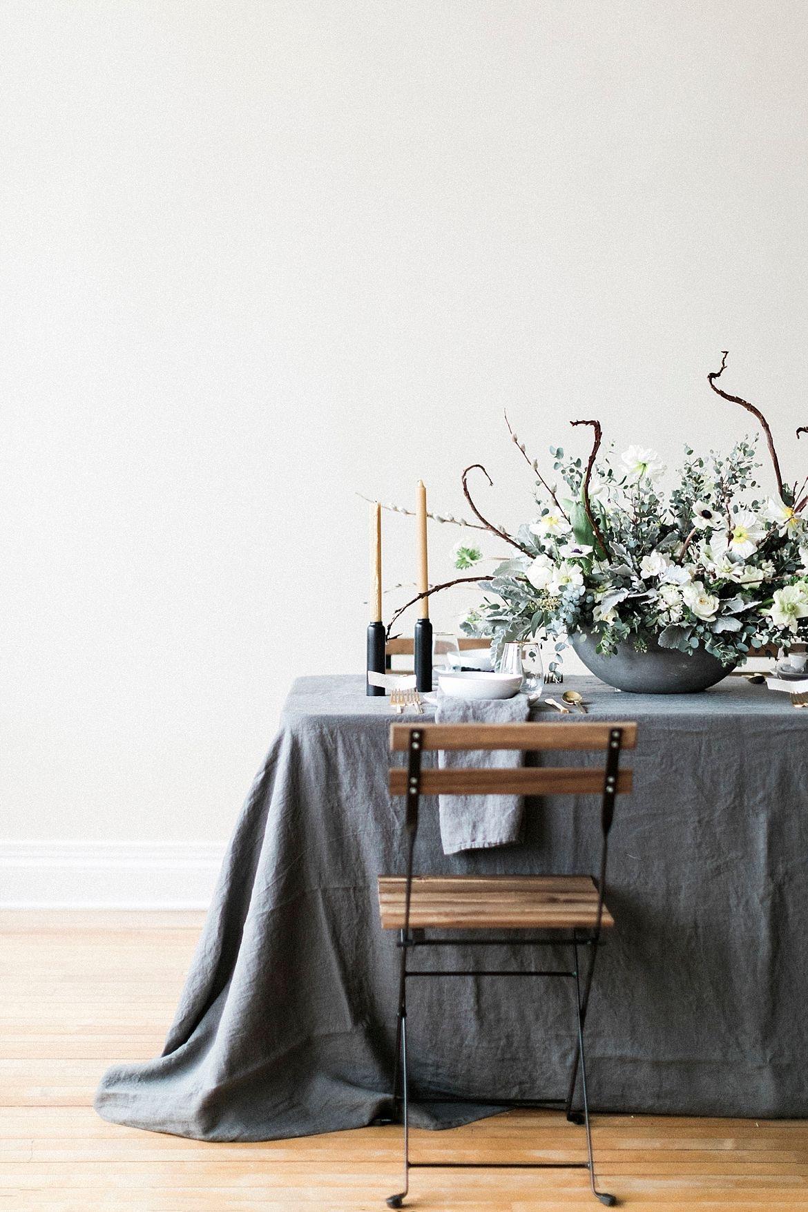 Gray Wedding Inspiration