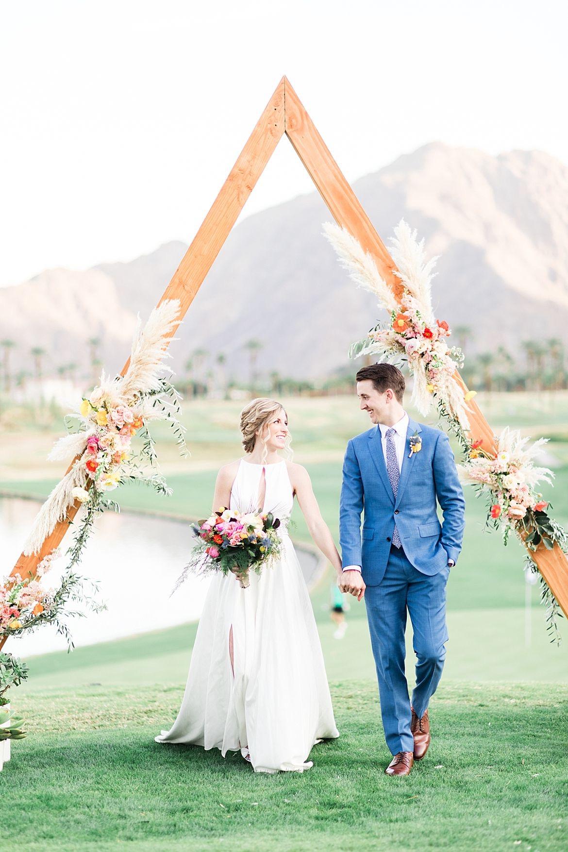 Bright California Wedding