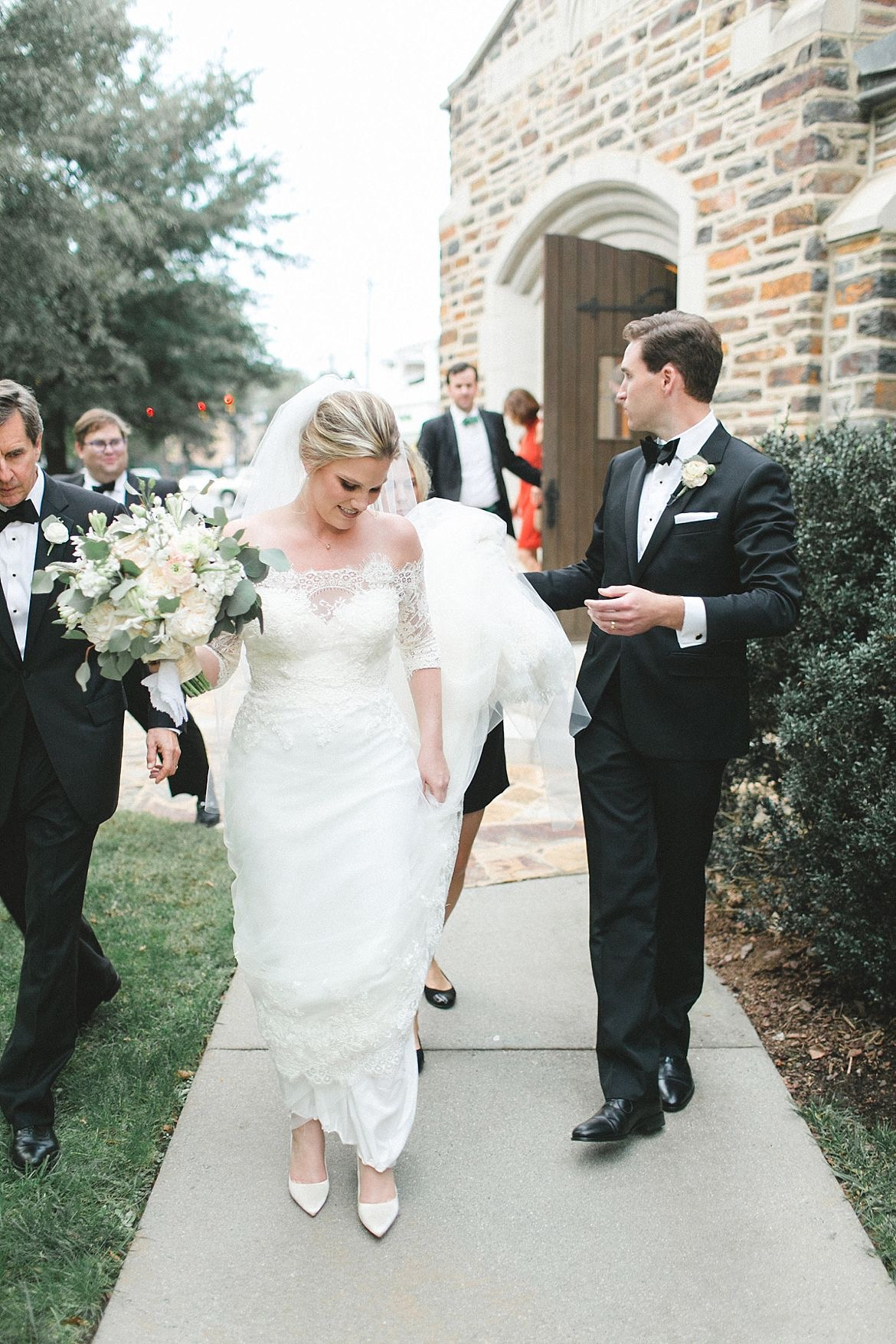 Elegant Church Wedding Inspiration