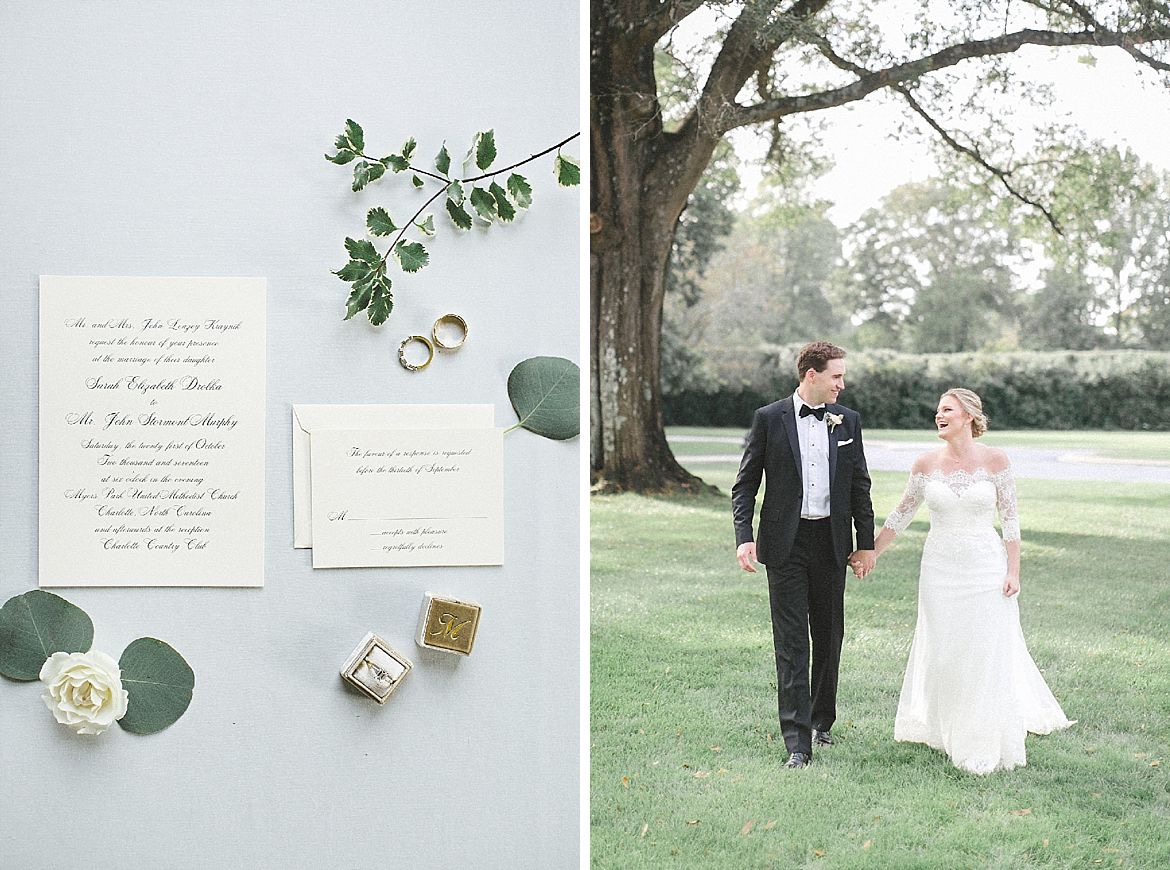 Black Tie Heirloom Wedding