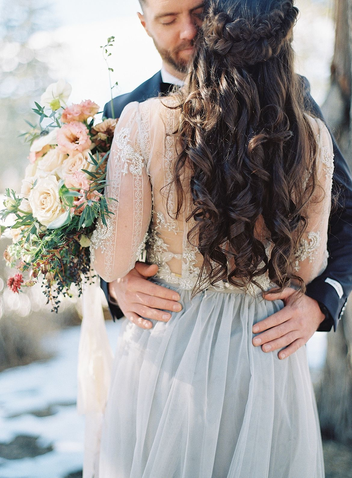 Masculine Feminine Wedding Inspiration