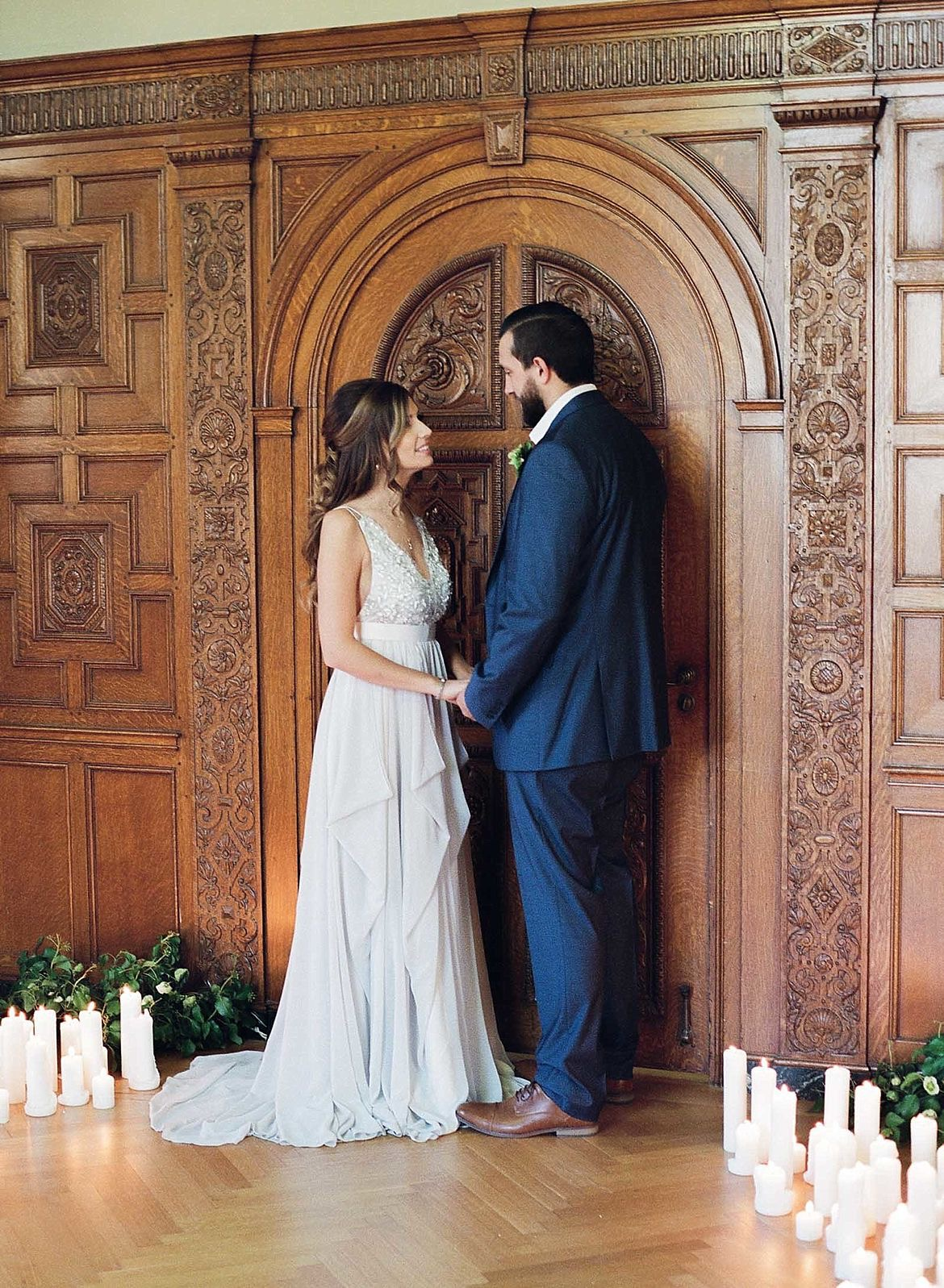 White Marble Wedding Inspiration