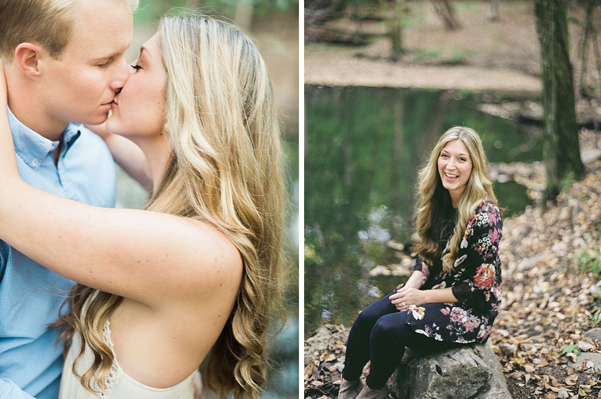 Wooded Engagement Session