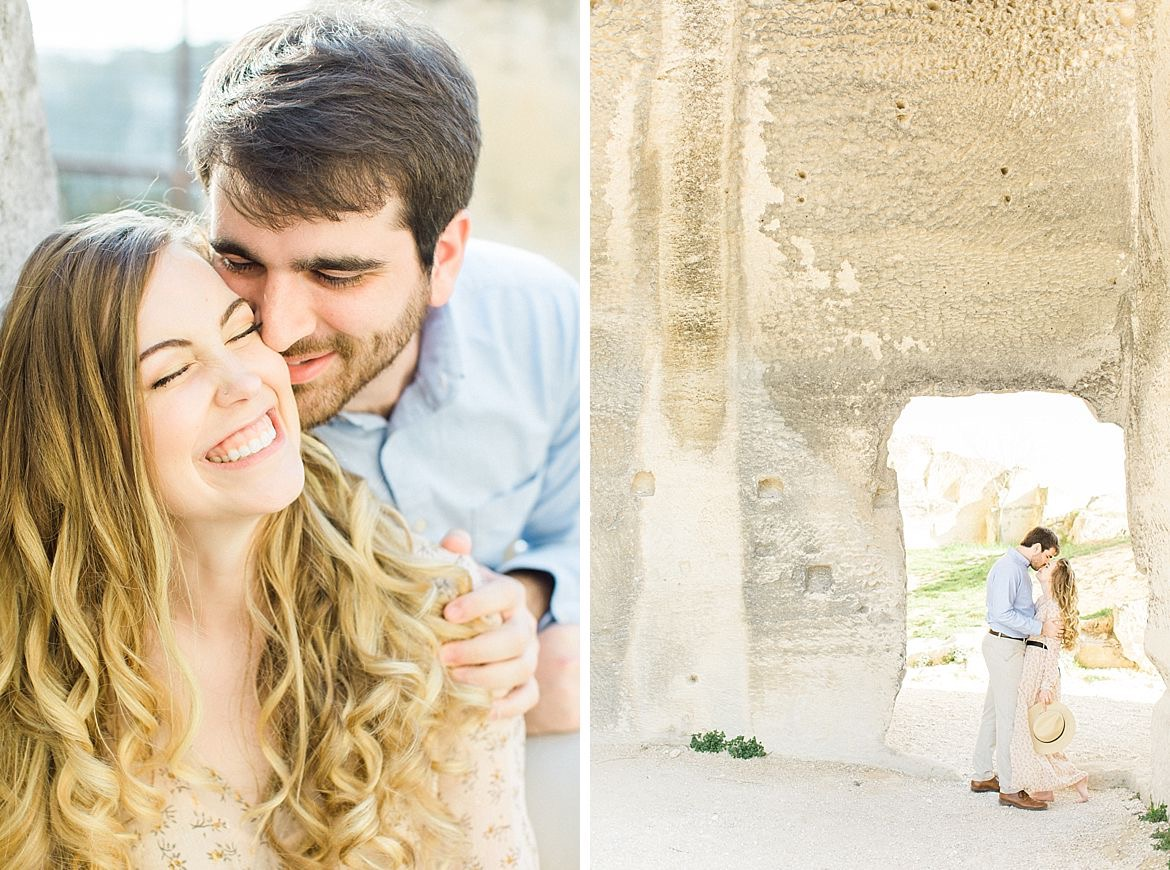 French Engagement Session