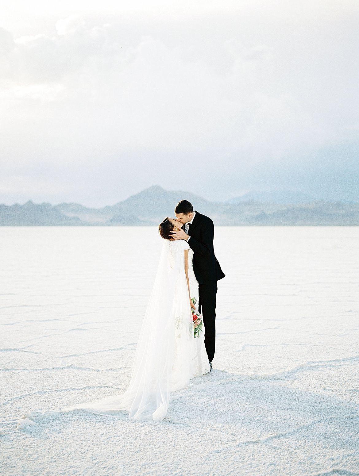 Salt Flats Engagement Session