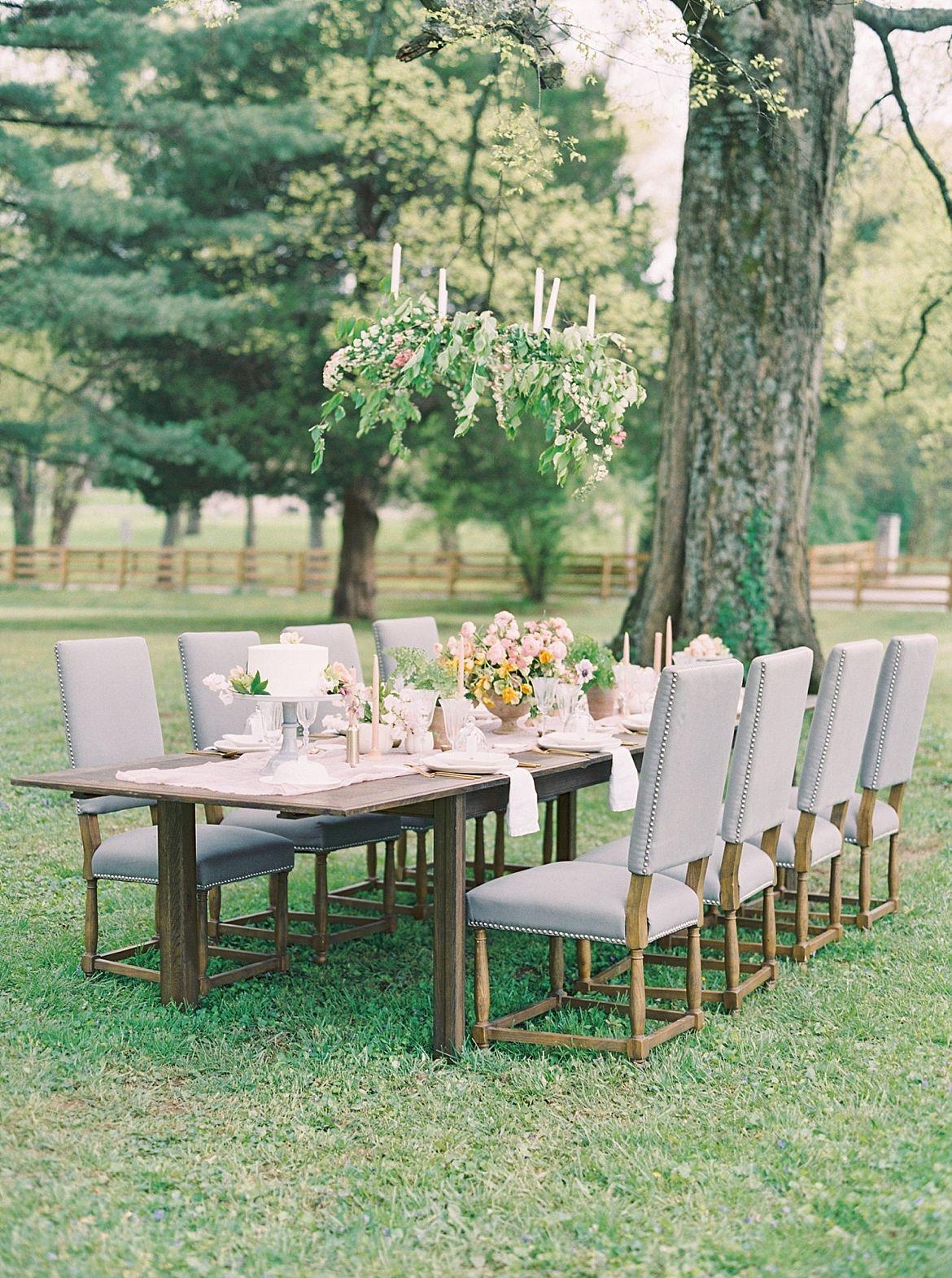 French Garden Wedding Ideas