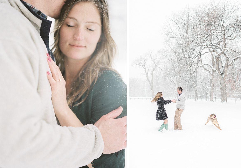 Snow Engagement Session Inspiration