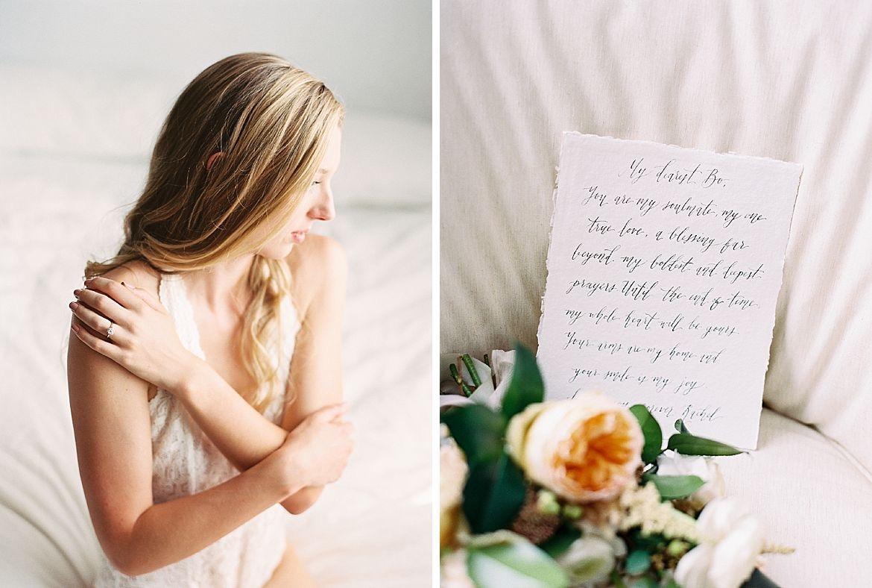 Elegant Bridal Boudoir Inspiration