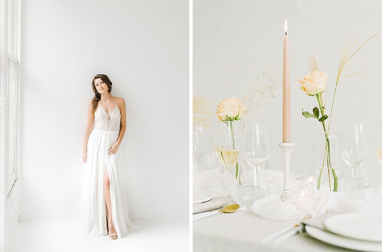 Clean Modern Wedding Inspiration
