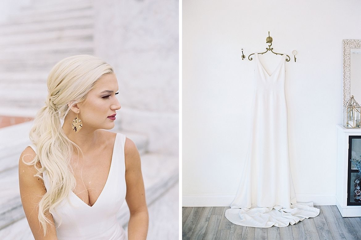 Black White Bridal Inspiration