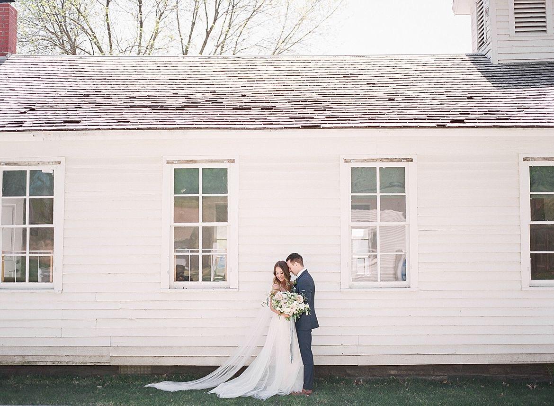 Iowa Historic Venue Wedding Inspiration