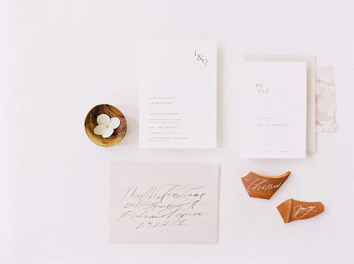 Minimalism Wedding Ideas