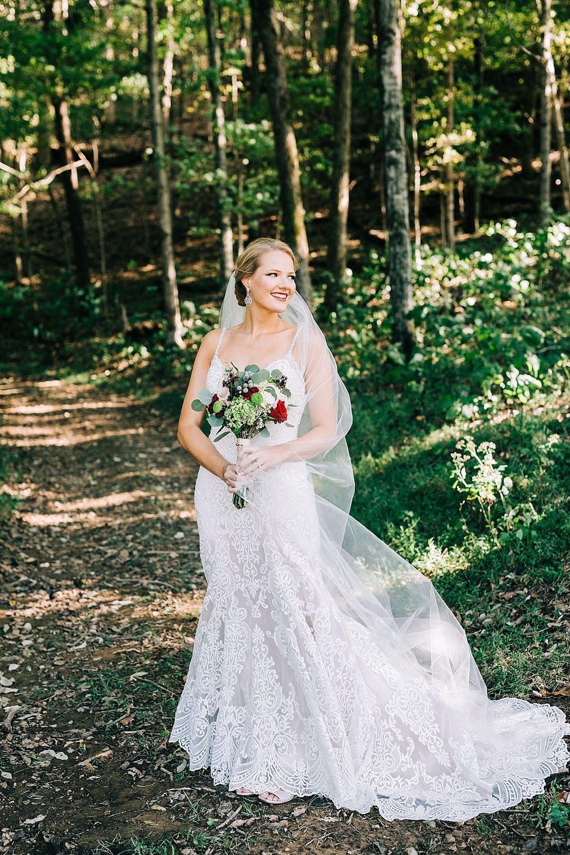 Red Floral Wedding Inspiration